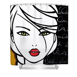 Lesson Learned Shower Curtain by Tom Fedro - Fidostudio