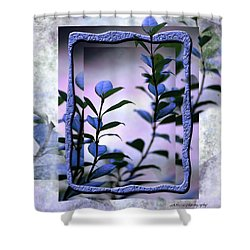 Shower Curtain featuring the digital art Let Free The Pain by Vicki Ferrari