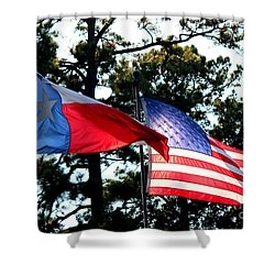 Shower Curtain featuring the photograph Let Freedom Ring by Kathy  White
