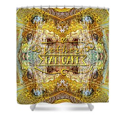 Let Her Eat Cake Queen Grand Apartment Versailles Shower Curtain