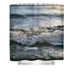 Shower Curtain featuring the photograph Let It Come To You by Laura Fasulo