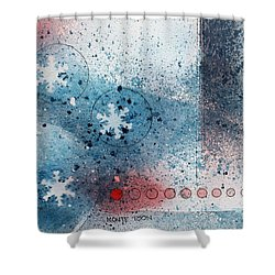 Let It Snow Shower Curtain by Monte Toon