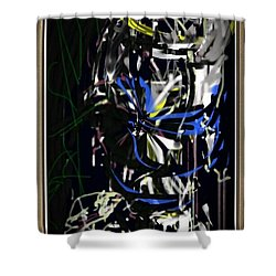 Let Love Be No Illusion Shower Curtain