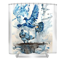 Let Me Free Shower Curtain