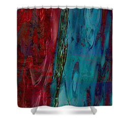 Let Somebody Else Rest By Southern Sea Shower Curtain by Danica Radman