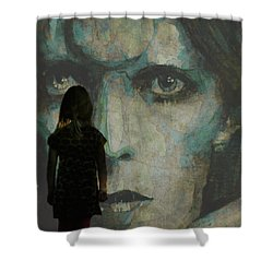 Let The Children Lose It Let The Children Use It Let All The Children Boogie Shower Curtain by Paul Lovering
