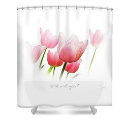Let The Earth Rejoice Shower Curtain