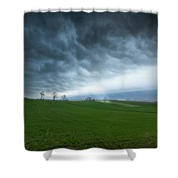 Let The Light In Shower Curtain