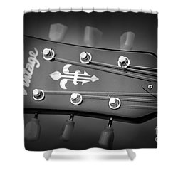 Shower Curtain featuring the photograph Let The Music Play by Baggieoldboy