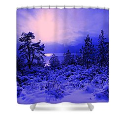 Shower Curtain featuring the photograph Let The Sun Shine In by Sean Sarsfield