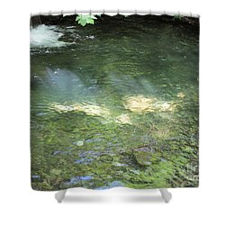 Shower Curtain featuring the photograph Let The Sunshine by Marie Neder