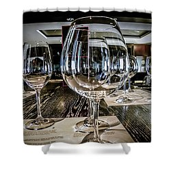 Let The Wine Tasting Begin Shower Curtain