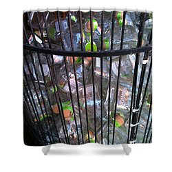 Let Them Loose Shower Curtain