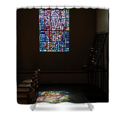 Shower Curtain featuring the photograph Let There Be Coloured Light... by Nina Stavlund
