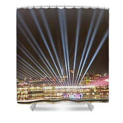 Shower Curtain featuring the photograph Let There Be Light By Kaye Menner by Kaye Menner