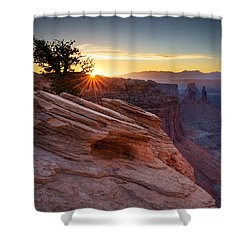 Shower Curtain featuring the photograph Let There Be Light by Dan Mihai
