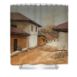 Let There Be Peace In Our Land Shower Curtain