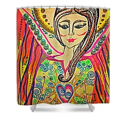 Let There Be Peace On Earth  Shower Curtain