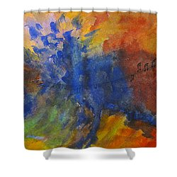 Let Your Music Take Wing Shower Curtain