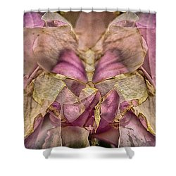 Lether Butterfly Or Not Shower Curtain