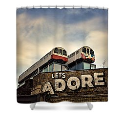 Lets Adore Shoreditch Shower Curtain