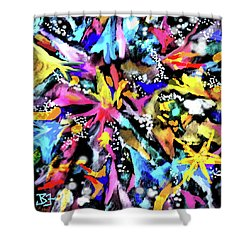 Let's Party Shower Curtain
