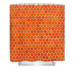 Let's Polka Dot Shower Curtain