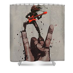 Let's Rock Shower Curtain