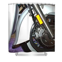 Shower Curtain featuring the photograph Lets Roll by Shana Rowe Jackson