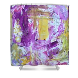 Letter To My Daughter Shower Curtain by Gail Butters Cohen