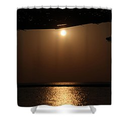 Letters From Abroad Shower Curtain by Jez C Self