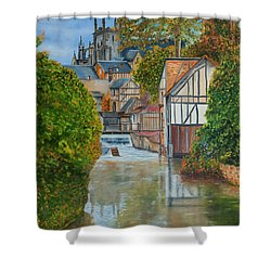 L'eure A Louviers -  France Shower Curtain