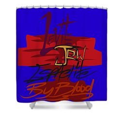 Levite By Blood Shower Curtain