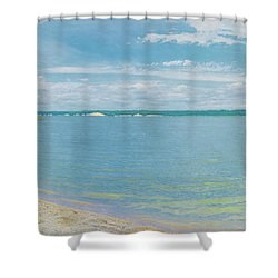 Lewis And Clark Lake Shower Curtain