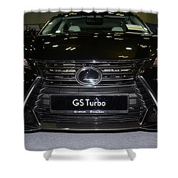 Lexus Gs Turbo Shower Curtain