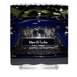 Lexus Is Turbo Shower Curtain
