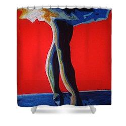 Leyla Shower Curtain by Dorneisha Batson