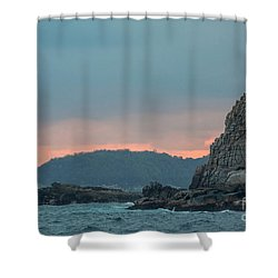 L'heure Bleue, Shower Curtain