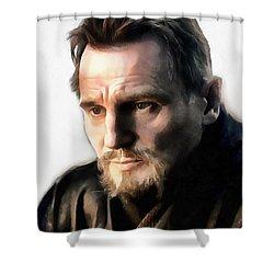 Liam Neeson Shower Curtain