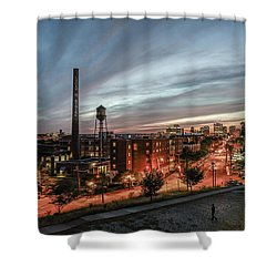 Libby Hill Post Sunset Shower Curtain