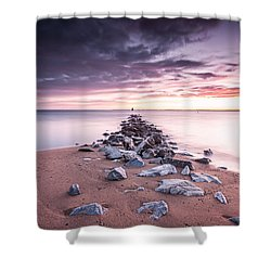Shower Curtain featuring the photograph Liberate Inanimate Objects by Edward Kreis