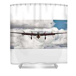 Liberating Experience Shower Curtain