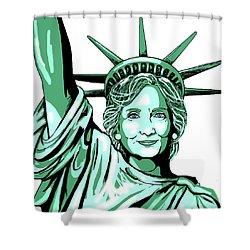 Liberty Hillary Shower Curtain by Konni Jensen
