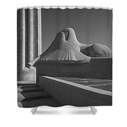 Liberty Memorial Kansas City Missouri Shower Curtain by Don Spenner