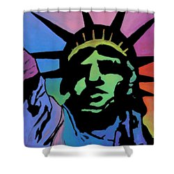 Liberty Of Colors Shower Curtain