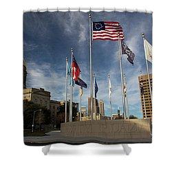 Liberty Plaza Shower Curtain