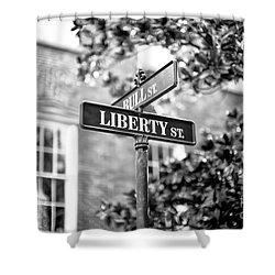 Liberty Street Shower Curtain