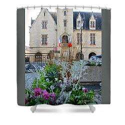 Libourne Town Hall Shower Curtain