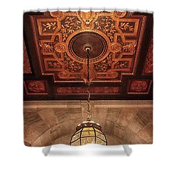 Shower Curtain featuring the photograph Library Light by Jessica Jenney