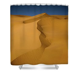 Libya Dunes Shower Curtain